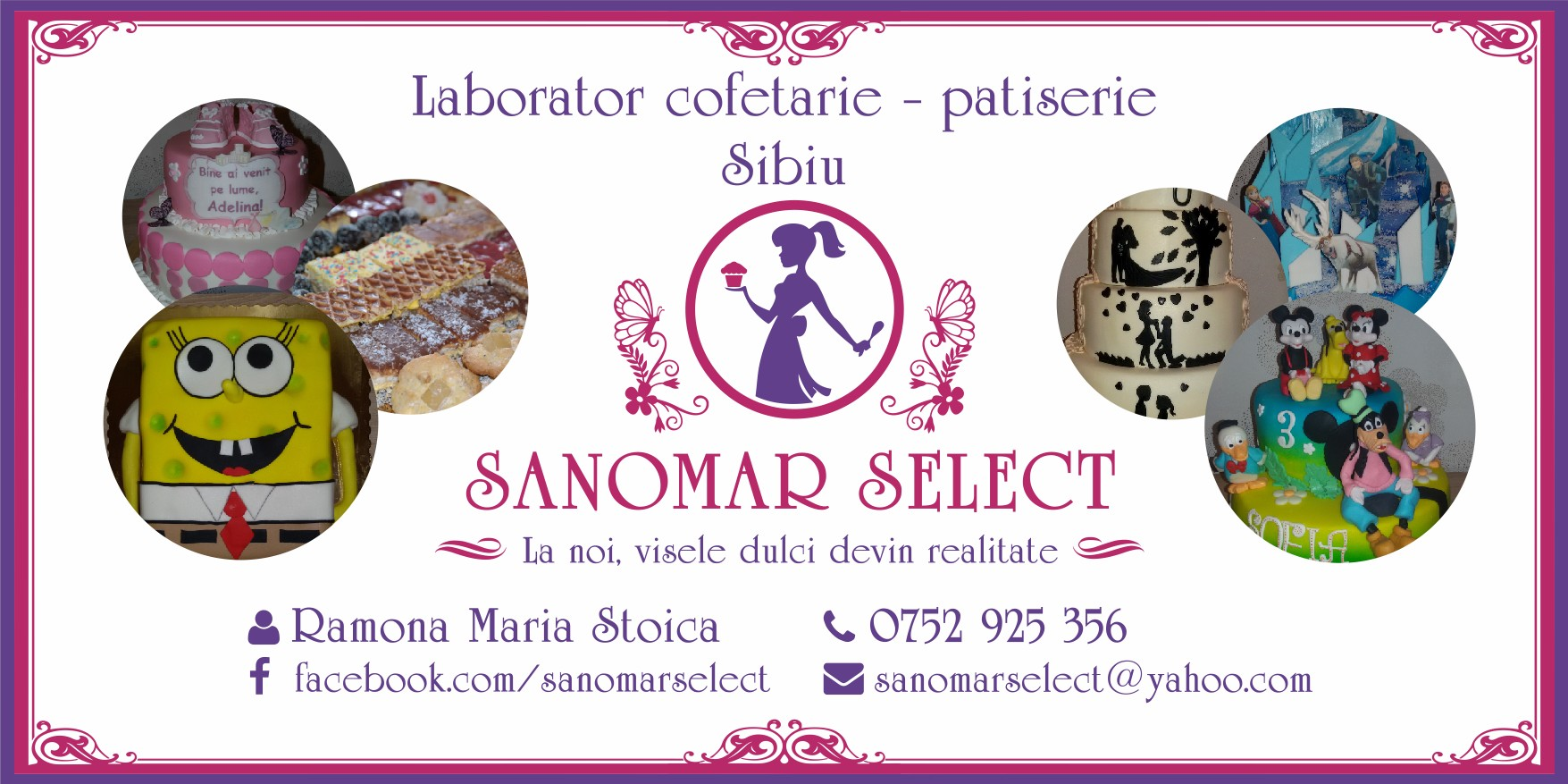 SANOMAR SELECT – Produse de patiserie